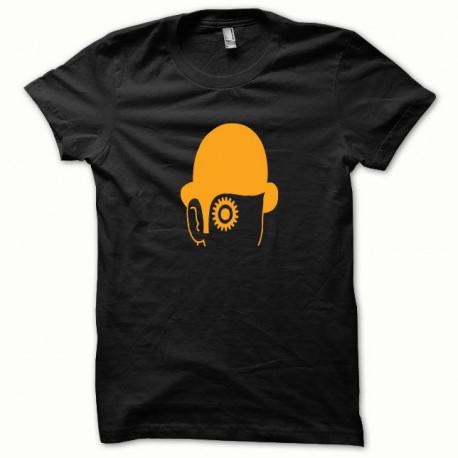 Tee shirt Clockwork Orange Mecanique orange/noir