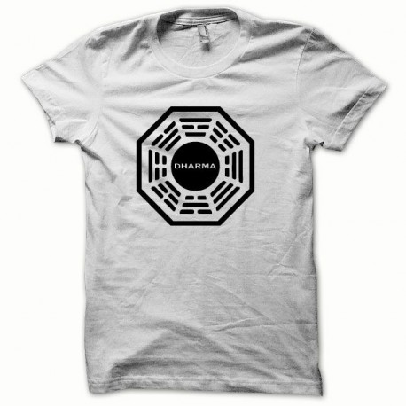 Dharma black / white t-shirt