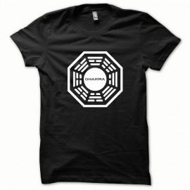 Tee shirt Dharma blanc/noir