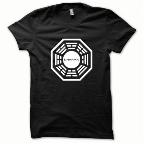 Dharma camisa blanca / negro