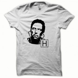 T-shirt Dr Gregory House Hugh Laurie black/white