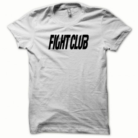 Tee shirt Fight Club noir/blanc