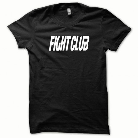 Tee shirt Fight Club blanc/noir