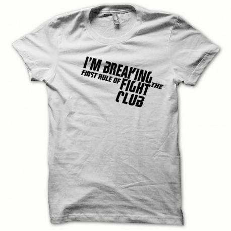 Tee shirt Fight Club noir/blanc