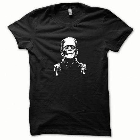 Tee shirt Frankenstein blanc/noir