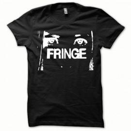 T-shirt Fringe white/black
