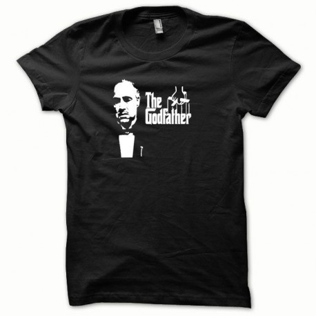 Tee shirt The Godfather Le parrain blanc/noir