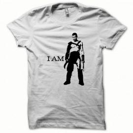 Camiseta Espartaco negro / blanco