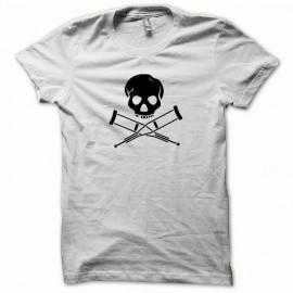 Jackass camiseta negro / blanco