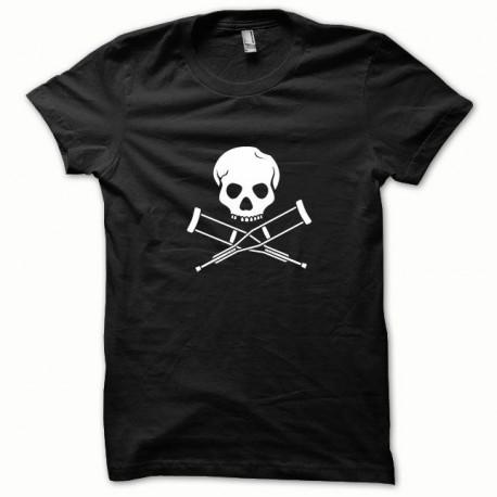 Camisa de Jackass blanco / negro