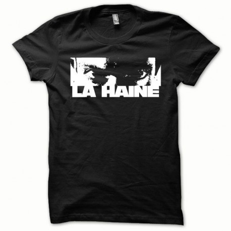 Tee shirt La haine blanc/noir