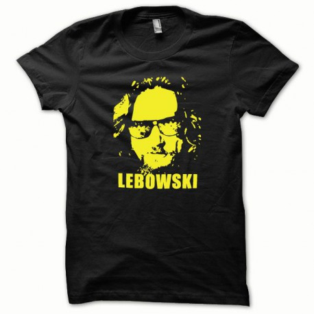 Tee shirt The Big Lebowski jaune/noir
