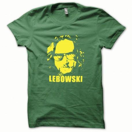 Tee shirt The Big Lebowski jaune/vert bouteille