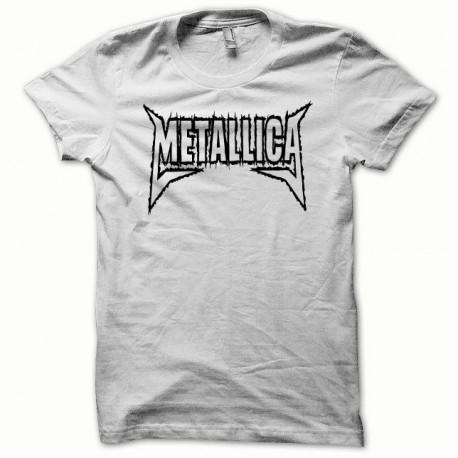 Tee shirt Metallica noir/blanc
