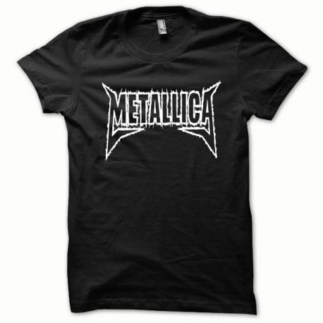 Tee shirt Metallica blanc/noir