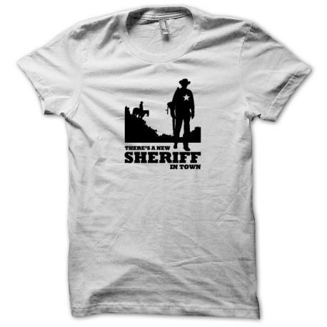 Tee shirt Sheriff noir/blanc