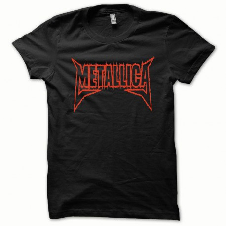 Tee shirt Metallica rouge/noir