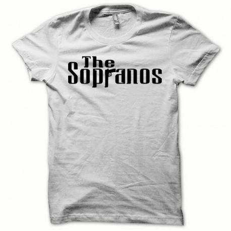 Tee shirt The Sopranos noir/blanc