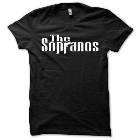 Tee shirt The Sopranos blanc/noir