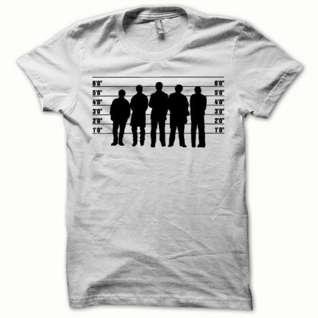 Tee shirt Usual Suspects noir/blanc