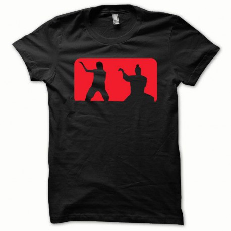 Tee shirt Kill Bill rouge/noir