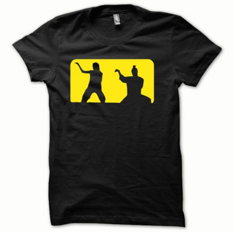 Tee shirt Kill Bill jaune/noir