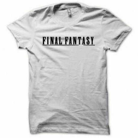 Tee shirt Final Fantasy noir/blanc
