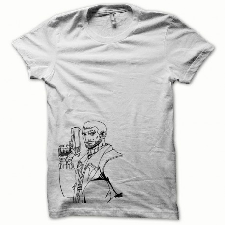 Tee shirt GTA noir/blanc