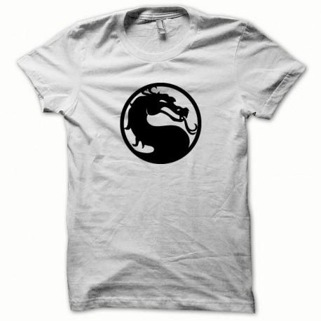 Tee shirt Mortal Kombat noir/blanc