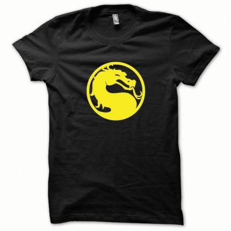 Tee shirt Mortal Kombat jaune/noir
