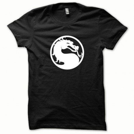 Tee shirt Mortal Kombat blanc/noir