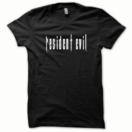 Tee shirt Resident Evil blanc/noir