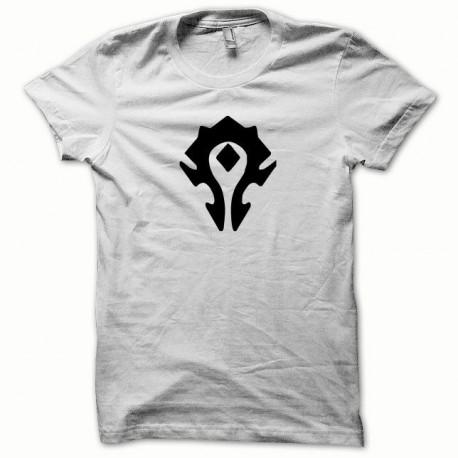 Tee shirt WoW La horde noir/blanc