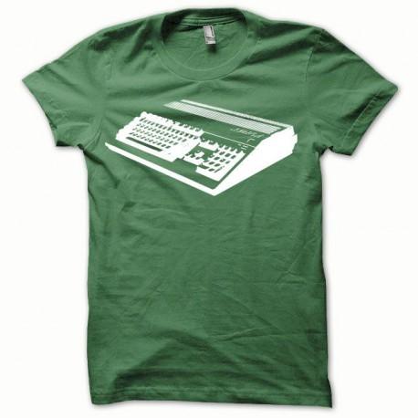 Tee shirt Amiga blanc/vert bouteille