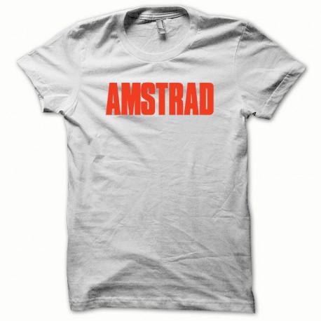 Tee shirt Amstrad rouge/blanc
