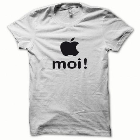 Tee shirt Apple moi noir/blanc