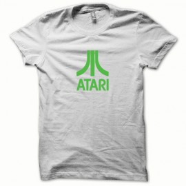 Shirt Atari green / white