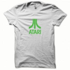 Tee shirt Atari vert/blanc