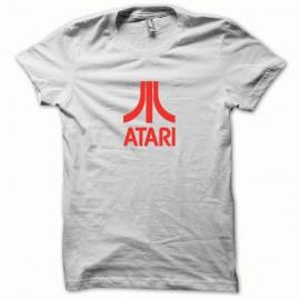 Camisa Atari rojo / blanco