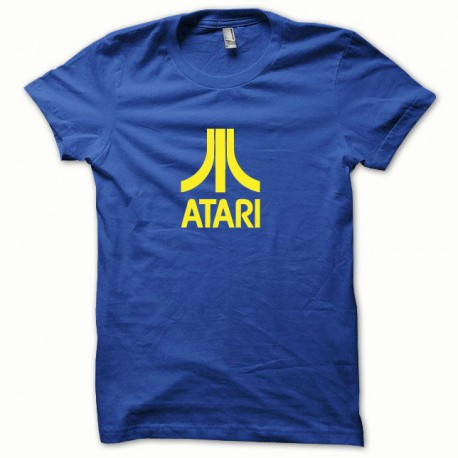 Tee shirt Atari jaune/bleu royal
