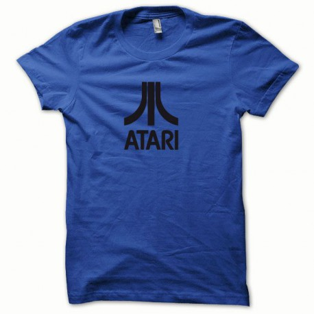 Tee shirt Atari noir/bleu royal