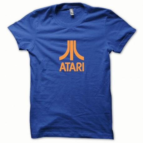 Tee shirt Atari orange/bleu royal