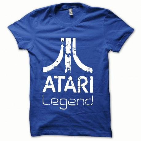 Tee shirt Atari Legend blanc/bleu royal