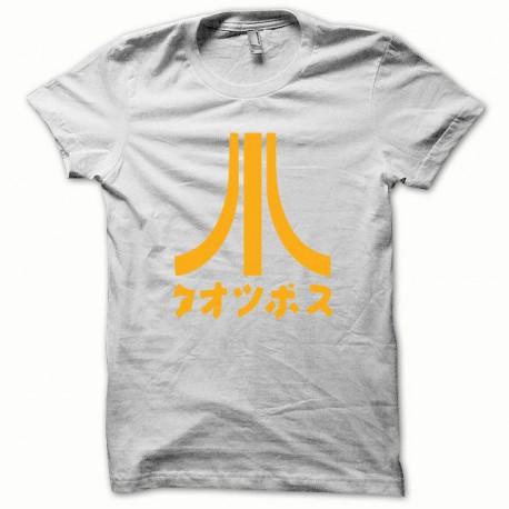 Tee shirt Atari Japon orange/blanc