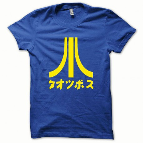 Tee shirt Atari Japon jaune/bleu royal