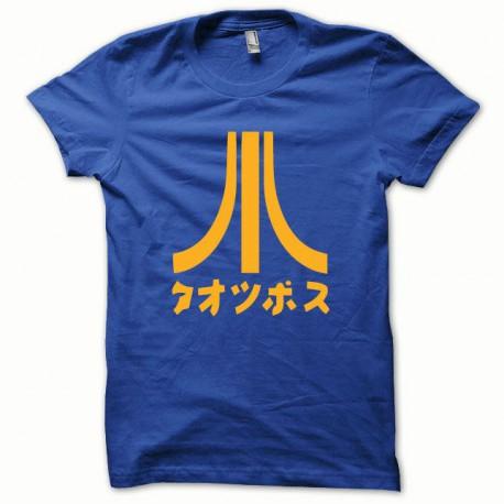 Tee shirt Atari Japon orange/bleu royal