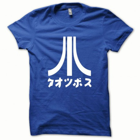 Tee shirt Atari Japon blanc/bleu royal