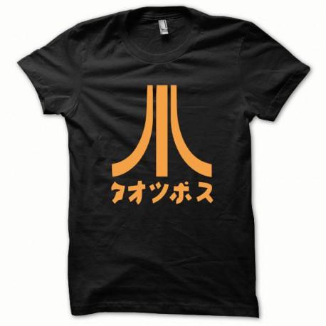 Tee shirt Atari Japon orange/noir