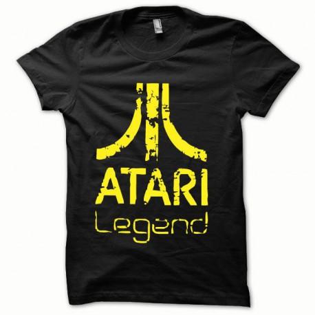 Tee shirt Atari Legend jaune/noir