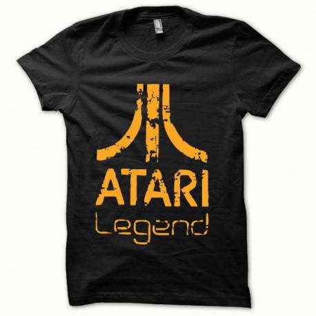 Tee shirt Atari Legend orange/noir